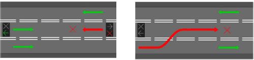 реверсивный светофор 2